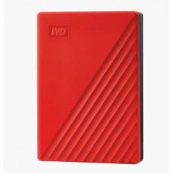 "Ext. HDD 2,5"" WD My Passport 4TB USB 3.0. červený"
