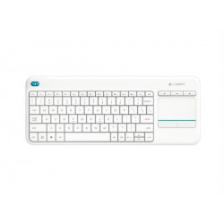 Logitech Wireless Touch Keyboard K400 plus,USB,C,W