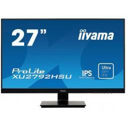 """27"""" iiyama XU2792HSU-B1: IPS, FullHD(16:9)@75Hz, 250cd/m2, 4ms, VGA, HDMI, USB, DP, USB, černý"""