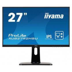 """27"""" iiyama XUB2792UHSU-B1: IPS, FullHD(16:9)@75Hz, 250cd/m2, 4ms, VGA, HDMI, DP, USB, height, černý"""