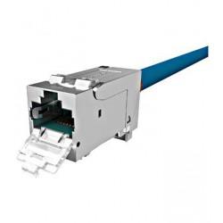 PERFORMANCE LINE modul RJ45, STP,Cat.6a 10Gb,4PPoE 100W,24ks