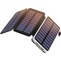 OUTXE EP300 Solární Dobíječ / PowerBank 10000mAh