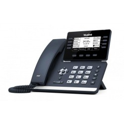 Yealink SIP-T53W IP. Tel. PoE, 3,7 bar. LCD, 8 prog. tl