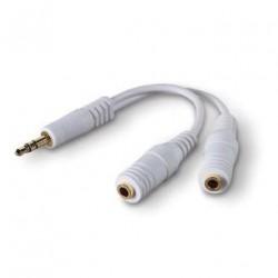 BELKIN Rozdvojka sluchátkového výstupu,3,5 mm jack
