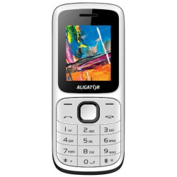 ALIGATOR D210 Dual sim bílo-černý