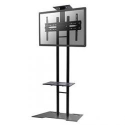 NewStar podlahový stojan na plochou obrazovku,45kg,černý, VESA 200x200 až 600x400mm