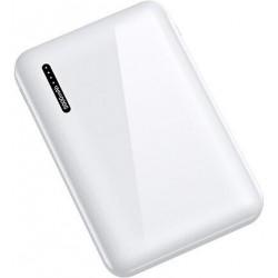 USAMS US-CD102 Dual USB Power Bank 10000mAh White