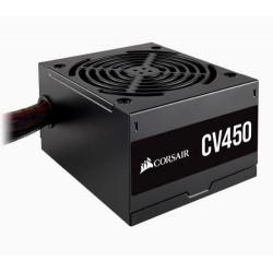 CORSAIR zdroj CV450 450W CV série (ventilátor 12 cm, model 2020, účinnost 80 Plus BRONZE, až 88 procent)