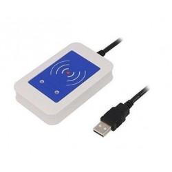 Xerox ELATEC TWN4 MIFARE NFC RFID CARD READER WHITE USB 2M CABLE