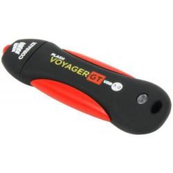 CORSAIR Voyager GT 512GB USB3 flash disk (86x27mm, max 350MB/s čtení, max 270MB/s zápis, vodě odolný a pogumovaný)