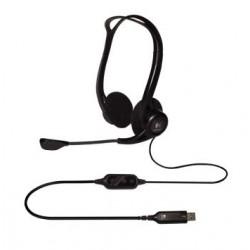 AKCE náhlavní sada Logitech PC 960 Stereo Headset, USB