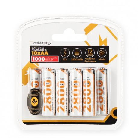 WE Nabíjecí baterie AA 2800mAh Ni-MH 10ks -blister