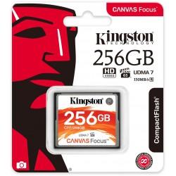 256GB CompactFlash Canvas Focus Kingston