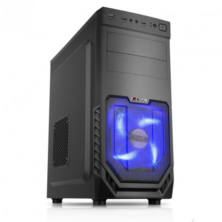 CORPA GAMER RYZEN 3 2200G 3.7GHZ 8GB 256GB + 1TB GTX 1050 Ti Win10