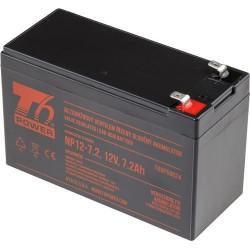 T6 POWER olověný akumulátor T6UPS0024, 12V, 7,2Ah