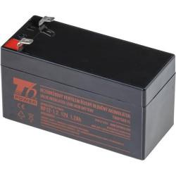 T6 POWER olověný akumulátor NP12-1.2Ah, 12V, 1,2Ah
