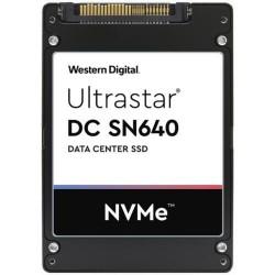"""SSD 7.68TB WD Ultrastar DC SN640 2,5"""" NVMe U.2 7mm"""