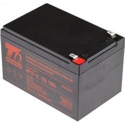 T6 POWER olověný akumulátor NP12-12, 12V, 12Ah