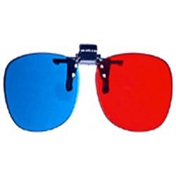 PRIMECOOLER PC-AD3 3D GLASS / 3D BRÝLE (red/blue pro dioptrické brýle)