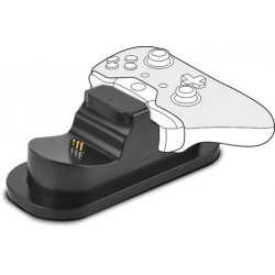 TWINDOCK USB Dual Charger for Xbox One, black