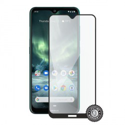Screenshield NOKIA 7.2 (2019) Tempered Glass protection (full COVER black)