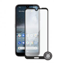 Screenshield NOKIA 4.2 (2019) Tempered Glass protection (full COVER black)