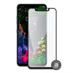 Screenshield LG G8s ThinQ Tempered Glass protection (full COVER black)