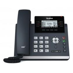 """Yealink SIP-T42U SIP telefon, PoE, 2,7"""" 192x64 LCD, 15 prog.tl.2xUSB, GigE"""
