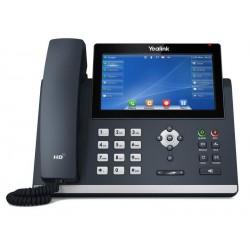 """Yealink SIP-T48U SIP telefon, PoE, 7"""" 800x480 LCD, 29 prog.tl.2xUSB, GigE"""