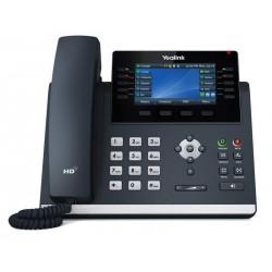 """Yealink SIP-T46U SIP telefon, PoE, 4,3"""" 480x272 LCD, 27 prog.tl.2xUSB, Gig"""