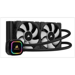 CORSAIR H100i RGB PRO XT komplet vodního chlazení CPU s 2x120mm ventilátorem (pro socket 1150, 1151, 1155, 1156, 2011, 2011-3, 2