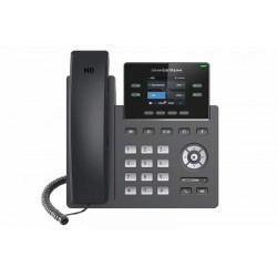"Grandstream GRP2612W SIP telefon, 2.4"" TFT bar. displej, 2 SIP účty, 4 prog. tl. 2x10/100Mb, WiFi"