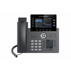 "Grandstream GRP2616 SIP telefon, 2xdisplej, 4.3"" a 2.4"", 6 SIP účty, 24 pr.tl.2x1Gb, WiFi, BT, USB"