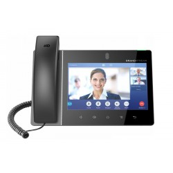 "Grandstream GXV3380 SIP video telefon 8""TFT bar.dotyk.displ. android 7, 16 SIP úč.7-way audiokonf."