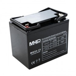 Pb akumulátor MHPower VRLA AGM 12V/33Ah (MS33-12)