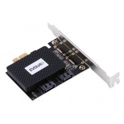 EVOLVEO 2x SATA III PCIe, rozšiřující karta