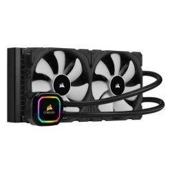 CORSAIR H115i RGB PRO XT komplet vodního chlazení CPU s 2x140mm ventilátorem (pro socket 1150, 1151, 1155, 1156, 2011, 2011-3, 2