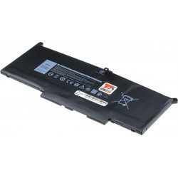 Baterie T6 power Dell Latitude 7280, 7290, 7380, 7390, 7480, 7490, 7900mAh, 60Wh, 4cell, Li-pol