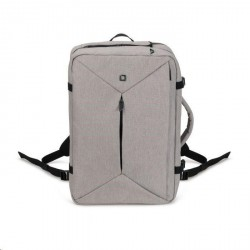DICOTA Backpack Dual Plus EDGE 13-15.6 light grey