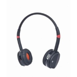 GEMBIRD Sluchátka BHP-001 Bluetooth, černo-červená