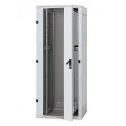 Stojanový rozvaděč 37U 800x1000 před.i zad.perf.dveře