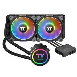 THERMALTAKE Floe DX RGB 240 TT Premium Edition komplet vodního chlazení CPU, chladič 270mm s 2x ventilátorem 120mm (pro INTEL a