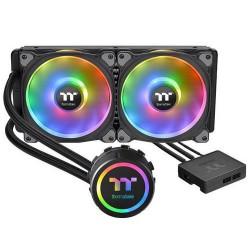 THERMALTAKE Floe DX RGB 280 TT Premium Edition komplet vodního chlazení CPU, chladič 312mm s 2x ventilátorem 140mm (pro INTEL a