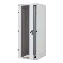 Stojan.rack RYA 47/800x1200 přední i zad.dverře perforace, rozebíratelný, šedý