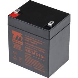 T6 POWER olověný akumulátor HR1221W, 12V, 5Ah