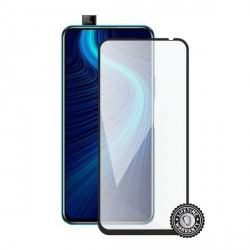 Screenshield HUAWEI Honor X10 Tempered Glass protection (full COVER black)
