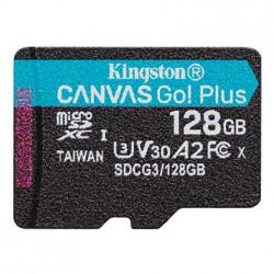 128GB microSDXC Kingston Canvas Go! Plus A2 U3 V30 170MB/s bez adapteru