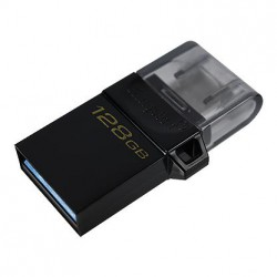 128GB Kingston DT MicroDuo 3 USB 3.0 (android/OTG)