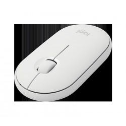 myš Logitech Wireless Mouse M350 white