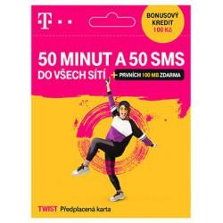 T-Mobile SIM Twist 50 MINUT A 50 SMS